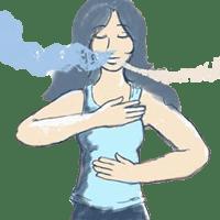 ejercicios de respiración para cantantes