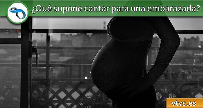 cantar embarazada