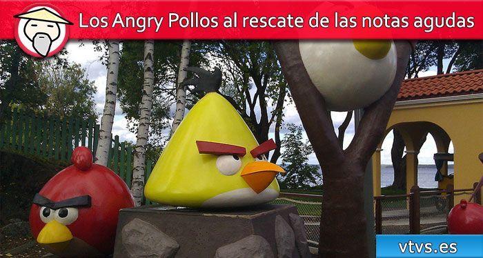 Los Angry Pollos al rescate de las notas agudas