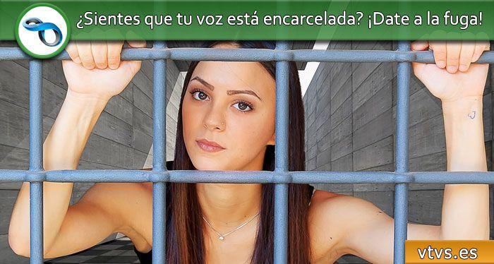 ¿sientes que tu voz está encarcelada?